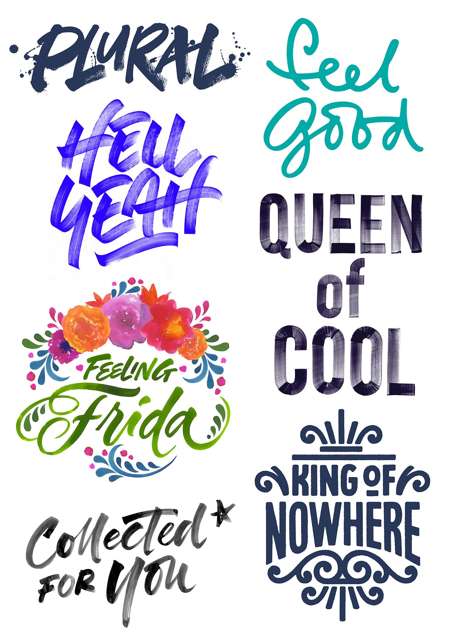 24 brush lettering tips and techniques - Digital Arts