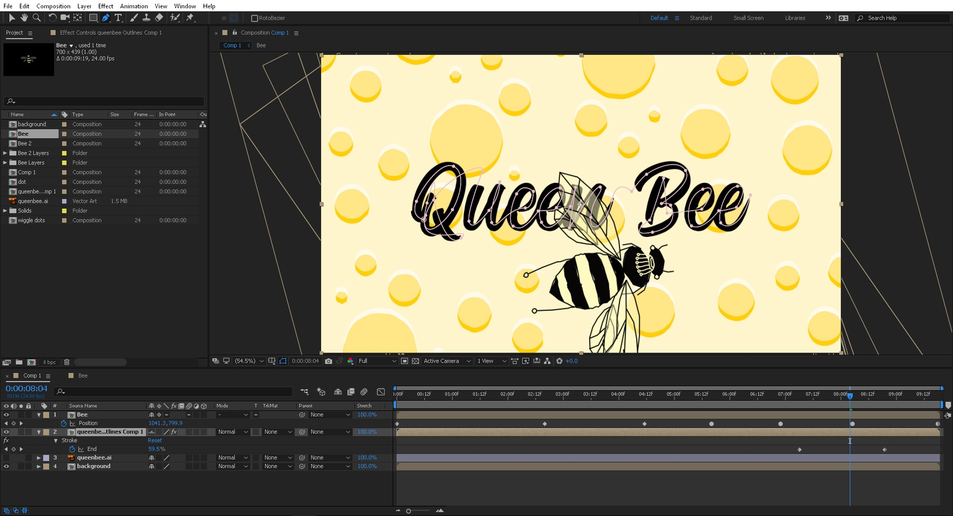 Create animation that looks hand-drawn in After Effects