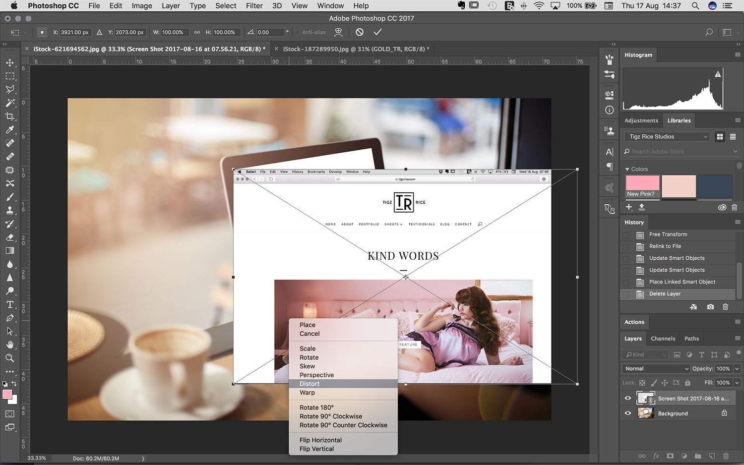 How to make a mockup in Photoshop - Digital Arts