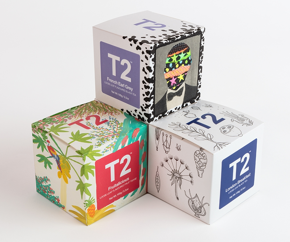 London artists to sip tea whilst designing limited-edition tea boxes