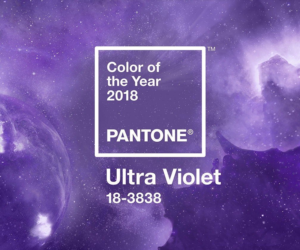 The Pantone Colour of the Year 2018 is a Prince-esque purple