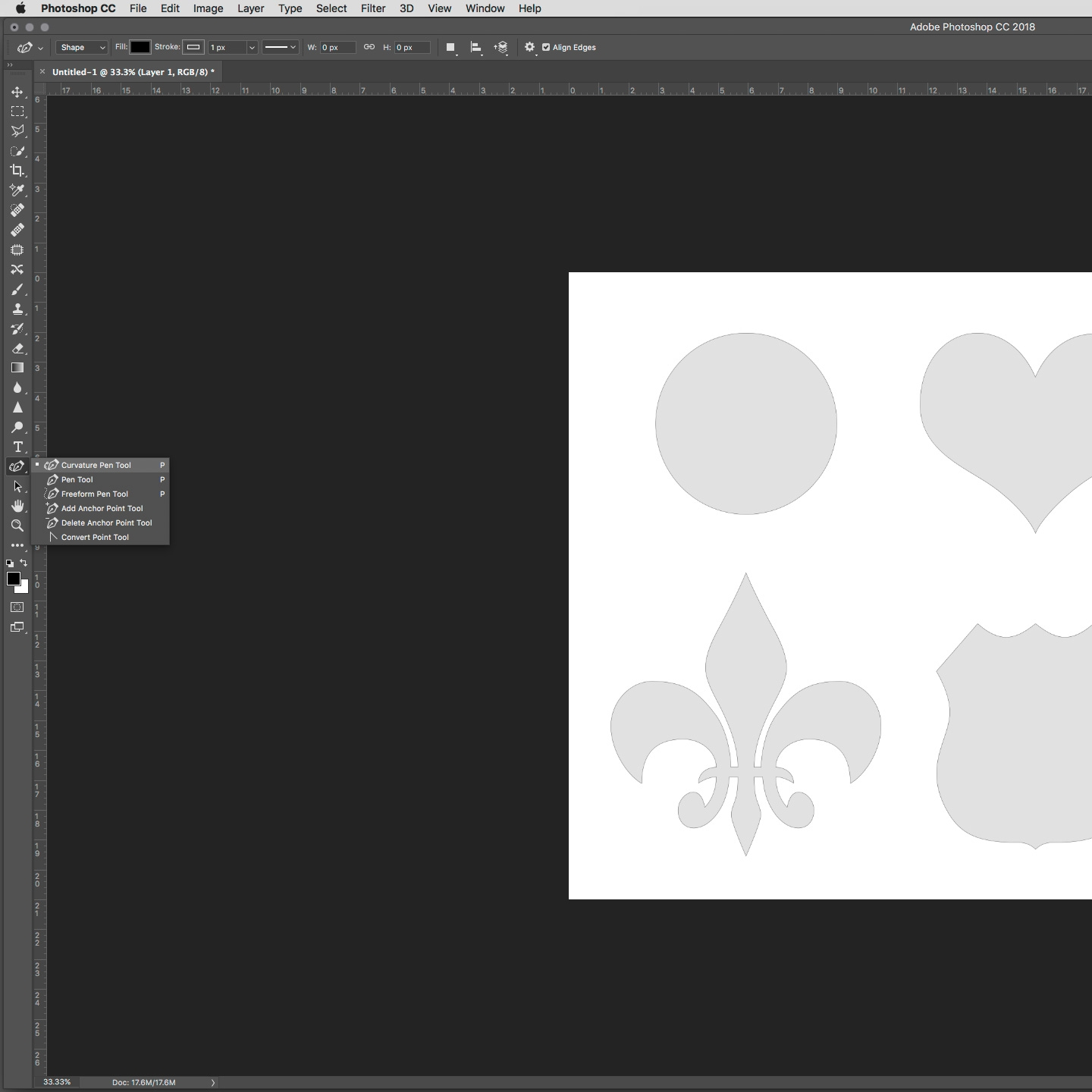 Photoshop tutorial: How To Master The Curvature Pen Tool
