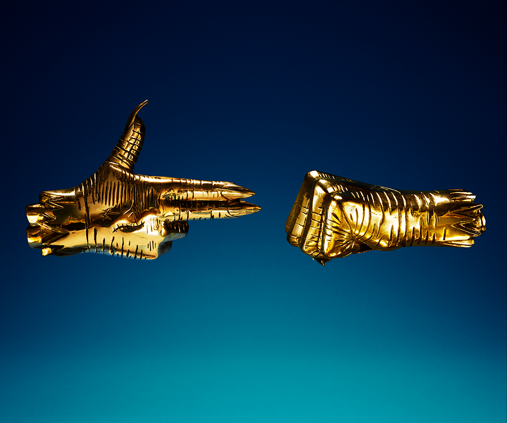 Run the Jewels' striking album artwork by Timothy Saccenti wins Best Art Vinyl Awards