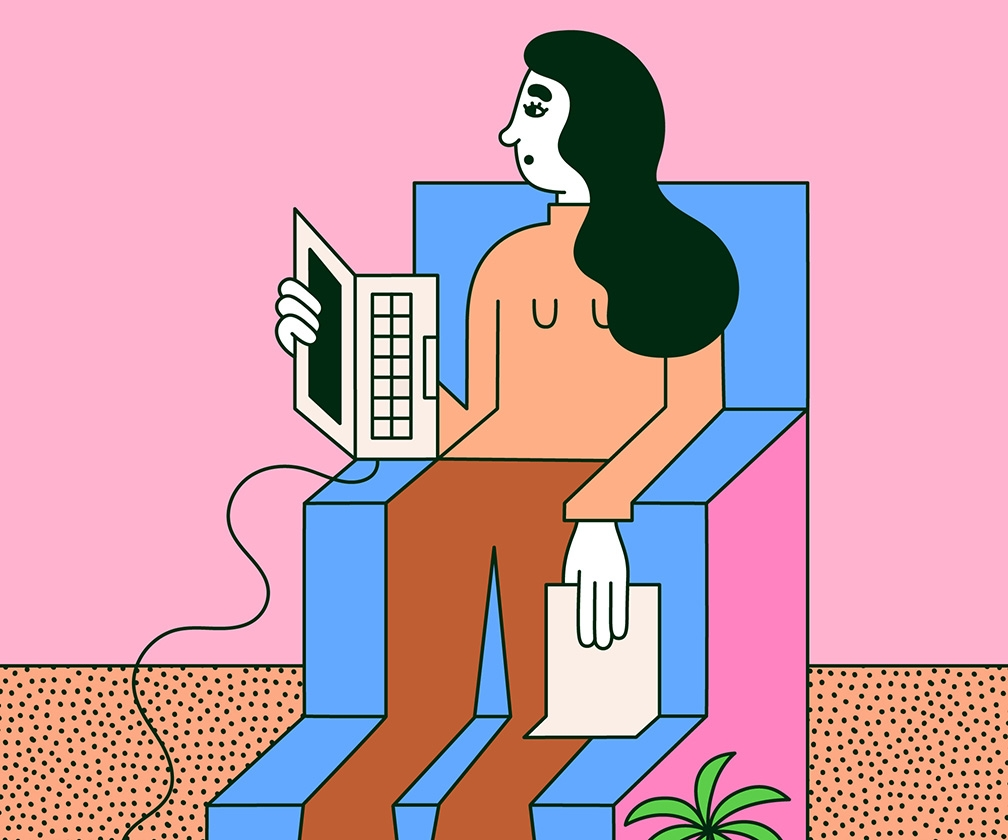 Illustrator Martina Paukova on her world of women who are truly relaxed
