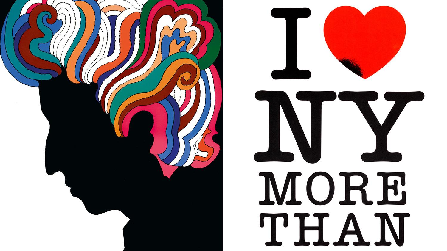 Remembering Milton Glaser's iconic poster designs, including Bob Dylan, I Love New York & more