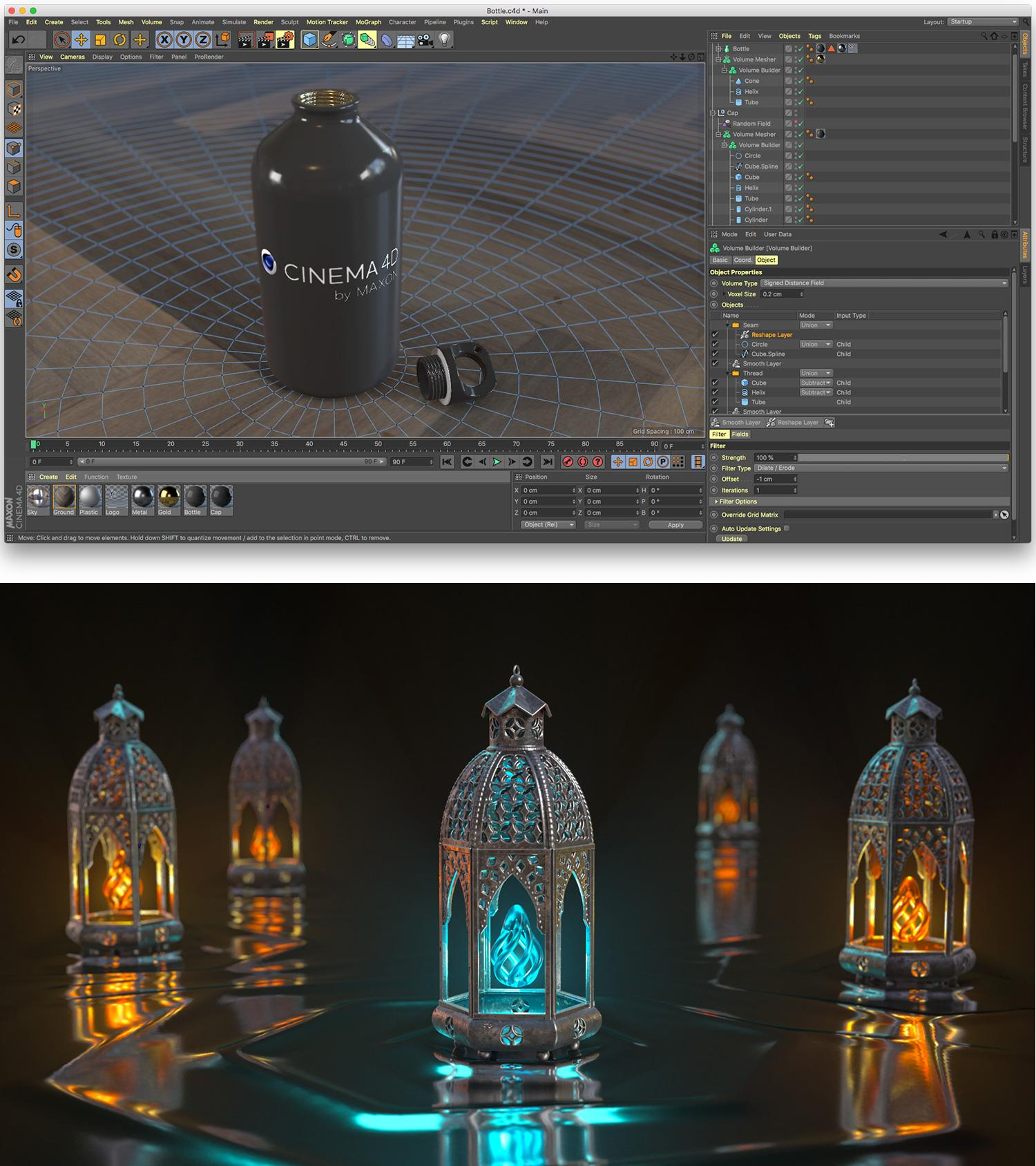 Cinema 4D R20 is out now, adding impressive new modelling