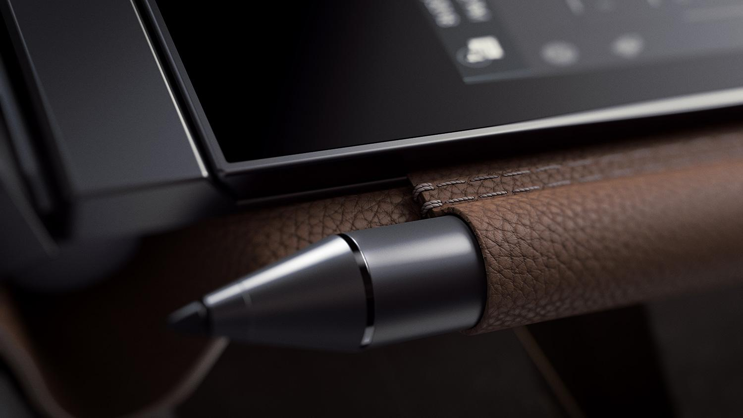 HP's Spectre Folio is a stylish, leather-bound take on the ...