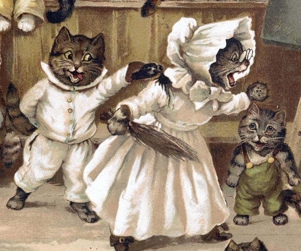 A history of cat illustrations from the 16th century to today
