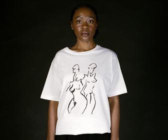 The world's best female and non-binary talent have designed tees for International Women's Day