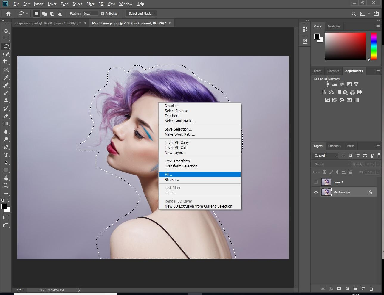 How To Create Dispersion Effect In Photoshop - Digital Arts