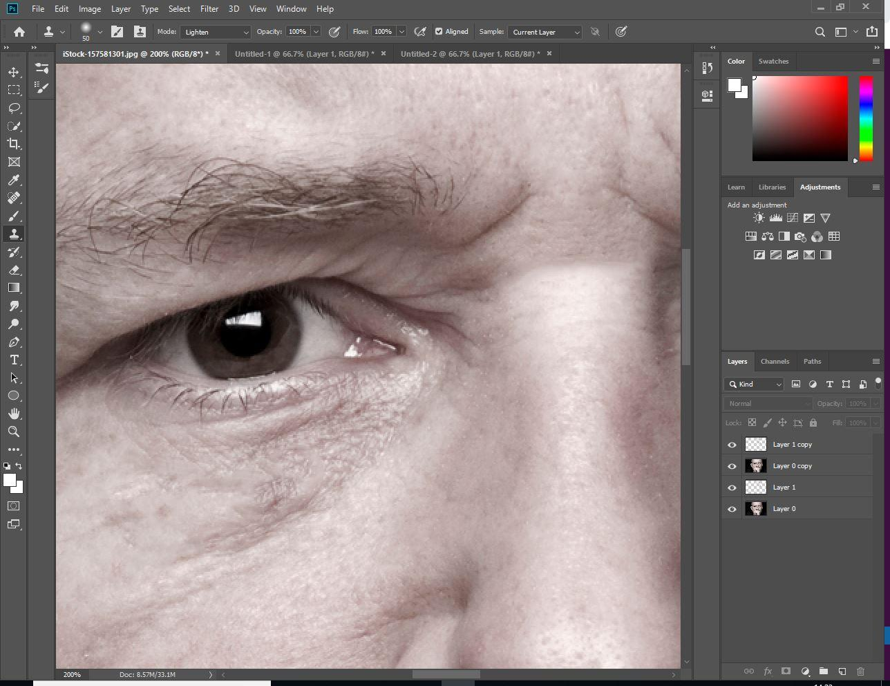 How To Remove Wrinkles in Photoshop - Digital Arts