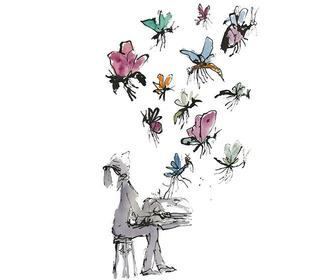 Quentin Blake celebrates book lovers for a new exhibition